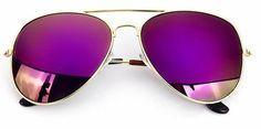 Men's & Women's Summer Fashion Aviator/Pilot Retro Sunglasses Purple  Oversized Aviator Sunglasses Eyewear Products Style Cheap 2017 Outlets Blue Glasses Sales Shop Buy Website Online