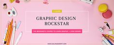 Graphic Design Rockstar Course - This course is specially catered for beginners to teach how to design basic GRAPHICS & LOGOS using Adobe Illustrator. Web Design, Logo Design, Graphic Design, Business Planner, Digger, Sheriff, Adobe Illustrator, Product Launch, Teaching