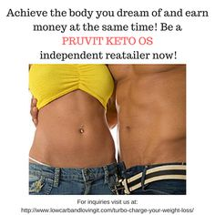 We are looking for people who have the drive to earn money while losing weight at the same time!   Our product was made and tested by doctors and it's a proven way to get yourself into a state of ketosis in under an hour so you can be a fat burning machine.   Grab this chance to make a difference and join the Pruvit revolution now!