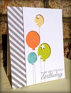 Dee's Art Utopia: ATSM #121 - Anything Goes !! Birthday card