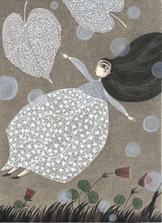 How did I skip Judith Clay until now? German artist Judith Clay : Her story book pictures are absolutely exquisite. Nature in fairytale form.