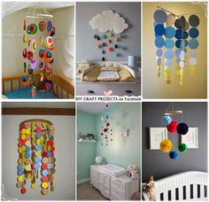 HomeMade Baby Crib Mobiles Ideas