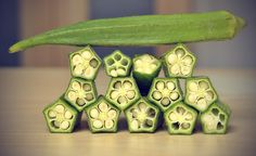 Okra Contains High Amounts of Pro Vitamin A and Antioxidants