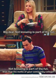 Sheldon for the win
