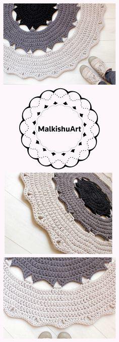 82 Best Crochet Rug Rag Rug Round Rug Free Patterns Images In