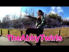 Basic High Step Marching - Novice Baton Twirling - How to Twirl a Baton ...
