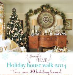 Jennifer Rizzo holiday housewalk 2014 over 30 holiday homes!