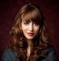 Hairstyles For Curly Hair With Bangs Easy Hairstyles