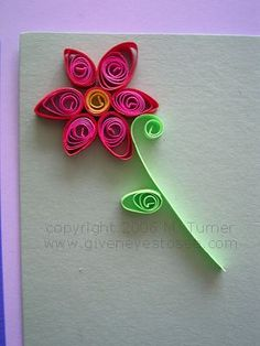 Quilling The art of paper filigree (Project photos) Quilling Cake, Paper Quilling Cards, Paper Quilling Flowers, Paper Quilling Patterns, Origami And Quilling, Quiling Paper Art, Quilling Tutorial, Simple Flowers, Paper Crafts