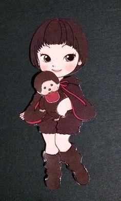 momoko DOLL as Paper Doll②