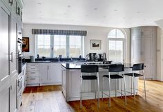 Waterside kitchen