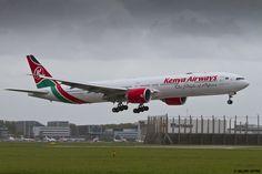 https://flic.kr/p/uQ5WjF | EHAM 09 mai 2015 Boeing 777 Kenaya Airways 5Y-KZZ