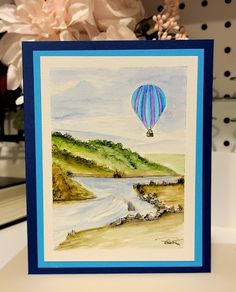 Art Impressions, This Is Us, Balloons, Card Making, Fan, Watercolor, Artist, Group, Cards