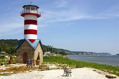 Lighthouse Park, Illinois by Pat Lubas