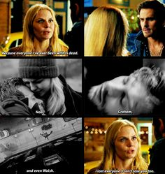 She doesn't dare to love anyone, because she's too scared. But he's not. Killian knows what it is to be without her, and even with her fears, he won't give up...