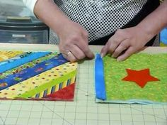 This video shows a method of joining together Quilt as you Go blocks and borders, with all those edges covered up!