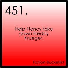 Help Nancy take down Freddy Krueger