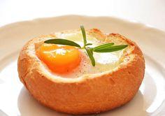 Cook & Look: Jajko zapiekane w bułce