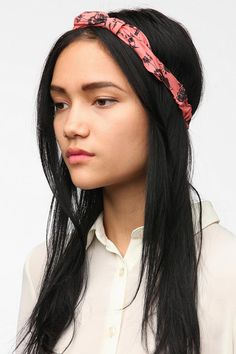 bf7a4ec5beb6c Silky Bow Headwrap I Like Your Hair