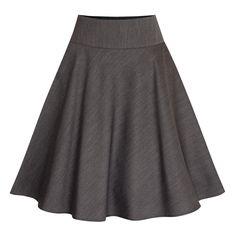 Rock Rosi in Anthrazit von Berwin und Wolff I 60 cm Skater Skirt, Midi Skirt, Rock, Elsa, Organic Cotton, Feminine, Elegant, Skirts, Shopping