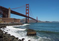 Made Up Style Bucket List Guide to West Coast America San Francisco Golden Gate Bridge San Francisco, Large Wall Art, Golden Gate Bridge, Fine Art Photography, West Coast, California, America, Landscape, Travel