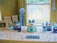 1001 + Ideen Für Babyparty Deko Zum Entlehnen. Eine Schöne Blaue ...