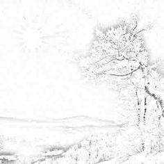 Sketsa Pemandangan Alam Pantai Pemandanganoce Free Coloring Pages