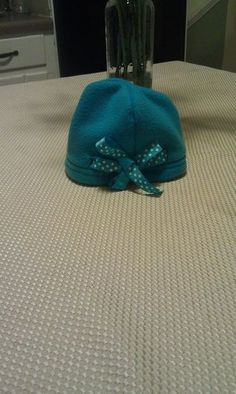 af215e5aed8 Here s a tutorial on how to make a fleece baby hat. It is a super easy  project and a wonderful gift for baby showers.