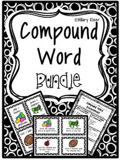 Great bundle for teaching COMPOUND WORDS!Bundle Includes:PostersAssessmentTask CardsI Have/Who Has GameFlash CardsEnjoy! And please leave feedback!!