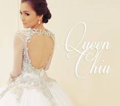 CHINITA x CHINITO - PERFECT PAIR — QUEEN CHIU and her gown by Pepsi Herrera