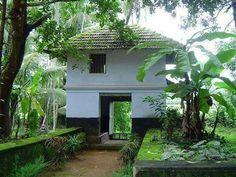 Gate of a traditional home in Kerala Pergola Designs, Deck Design, House Design, Patio Gazebo, Backyard, Kerala Architecture, Earthy Home, Kerala Travel, Kerala Houses