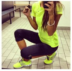 This bright Nike gear will definitely get me to the gym