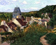 View of Lavardin Maxime Maufra - 1907