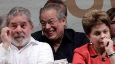 Lula,J Dirceu e atual Presidenta Dilma... corruptos do pt