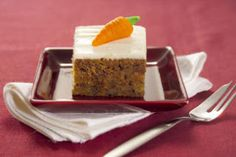 GS Kitchen: Carrot Cake With Cream Cheese Topping