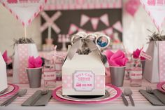 Girly Train themed birthday party via Kara's Party Ideas KarasPartyIdeas.com The Place For ALL THINGS PARTY! #train #girlytrainparty #trainparty #traincake (27)