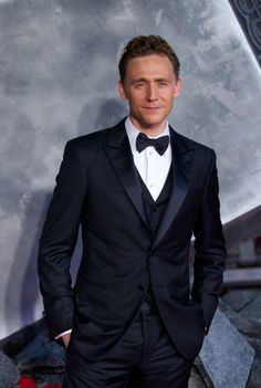 Tom Hiddleston attends the World Premiere of 'Thor: The Dark World' at The Odeon Leicester Square on October 22, 2013 in London, England