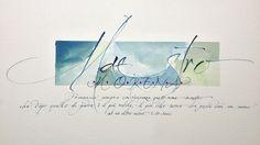 Calligraphic design | Omaggi calligrafici - Calligraphic design
