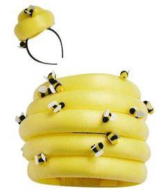 The How-To: Beehive #halloweencostumesadult #coolhalloweencostumes
