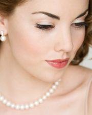Soft bride makeup look