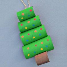 manualidades navideñas para niños con material reciclado - Ideas Bonitas Para