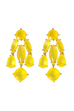 kate spade new york accessories Canary Statement Earrings