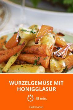 Wurzelgemüse mit Honigglasur - smarter - Zeit: 45 Min. | eatsmarter.de