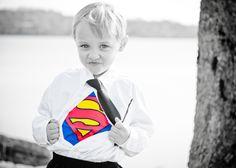 Superman! toddler/little boy photo superhero theme photo shoot Bethany Davis, WhIM Photography www.whimphotography.com