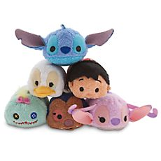 Mini peluches Lilo et Stitch de la collection Tsum Tsum
