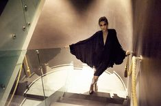 JESSICA CHOAY The Kimono . Photographer Vera Colombo . Model Iliana Chernakova . Location Hotel Milano Scala, Milan