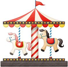 Clip Art Carousel Clipart christmas carousel horse clip art pinterest carousel