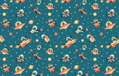 LOVE this wrapping paper - Ben Newman!!  For Nobrow press