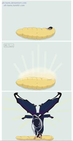 Aizawa turned into a beautiful butterfly >>>>> a badass butterfly you mean 😂😂😂 Boku No Hero Academia, My Hero Academia Memes, Hero Academia Characters, My Hero Academia Manga, Manhwa, Rin Matsuoka, Shouta Aizawa, Animes Wallpapers, Wattpad