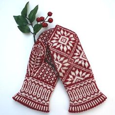 Love these traditional Norwegian style mittens! https://twostrands.files.wordpress.com/2011/11/zinnia-mittens-front-and-back-4001.jpg